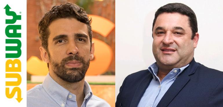 b1673470f5459 A Subway®, maior rede de alimentação rápida do mundo e do Brasil, anuncia a  contratação de dois novos executivos para as suas operações no país.