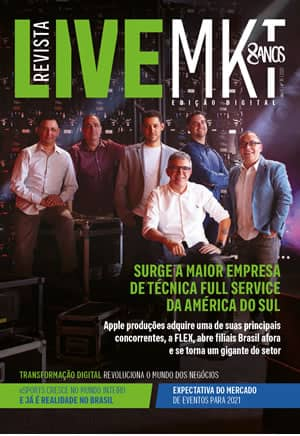 Capa Revista Live Marketing Ano 9, n.º 36 – 2020