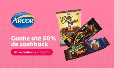 Arcor concede até 50% de cashback na compra de produtos pelo aplicativo Méliuz
