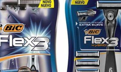 BIC lança campanha digital com foco no barbeador Flex3