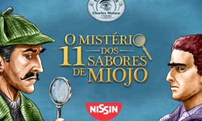 Nissin lança websérie com detetives que não descobrem nada