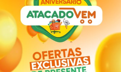 Em campanha da Ampla, Atacado Vem celebra um ano de funcionamento e reforça sua marca