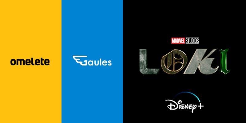 """Omelete e Gaules fazem """"watch party"""" exclusiva de """"Loki"""", nova série da Marvel Studios"""