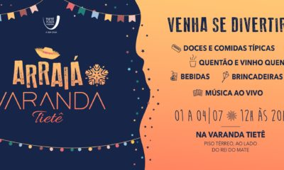 "Tietê Plaza Shopping promove o ""Arraiá na Varanda"""