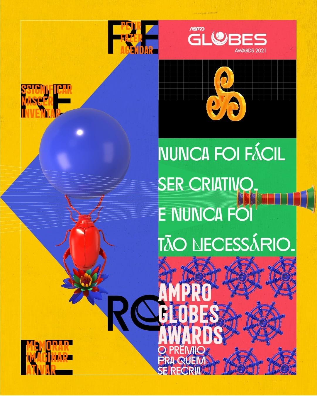 Ampro Globes Awards lança campanha para o Festival de Criatividade