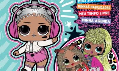 Boneca L.O.L. ganha novo álbum de figurinhas pela Panini