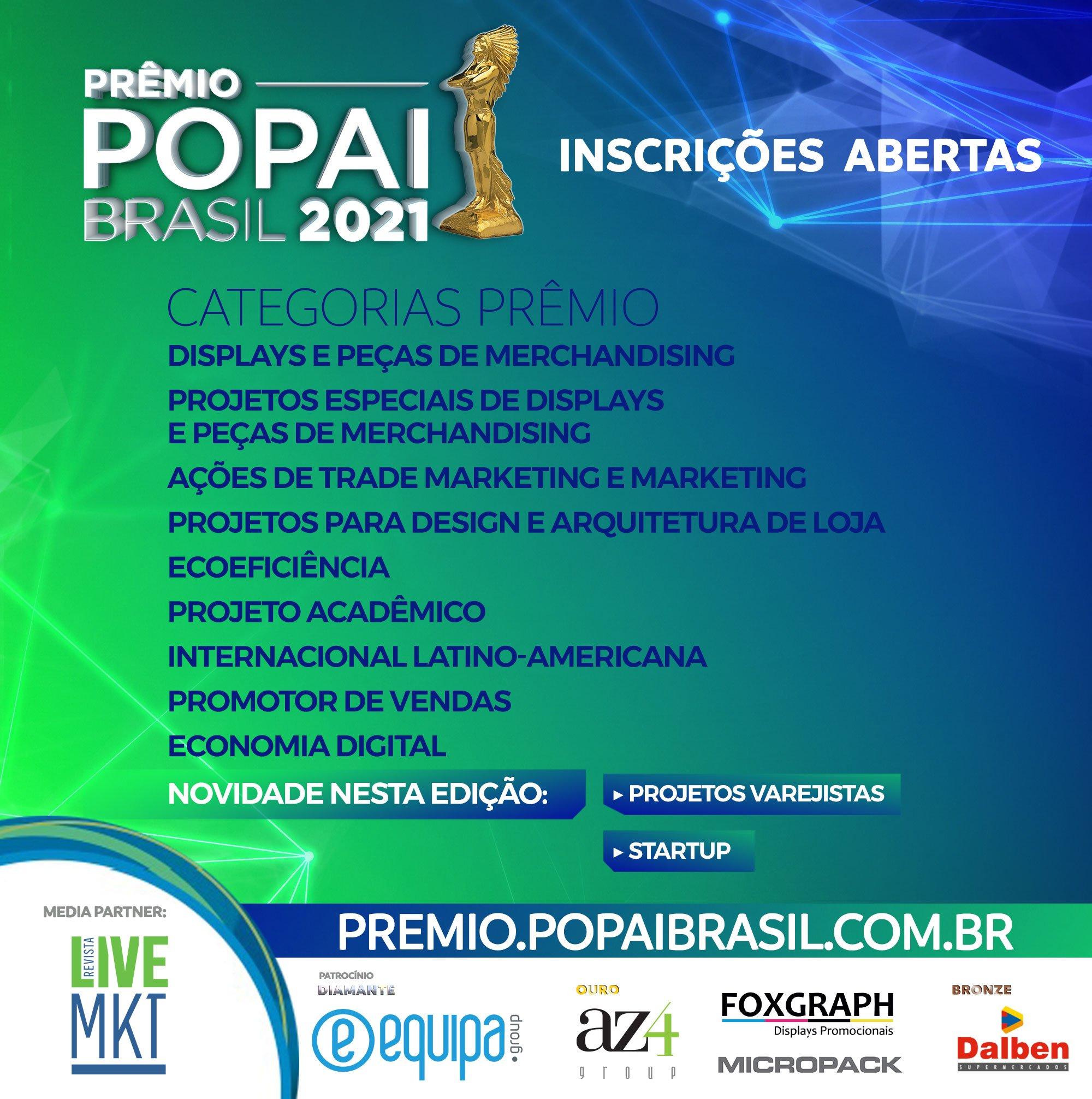 Divulgação Categorias Prêmio POPAI 2021