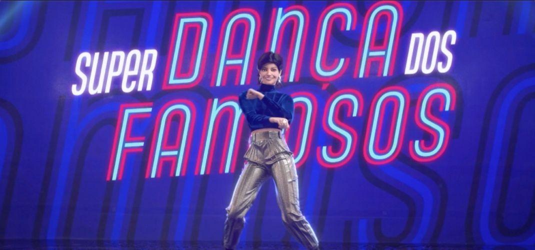 É ela! Lu, do Magalu, participa do Super Dança dos Famosos