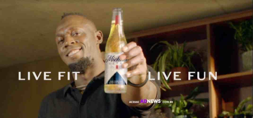 Michelob Ultra anuncia Usain Bolt como embaixador