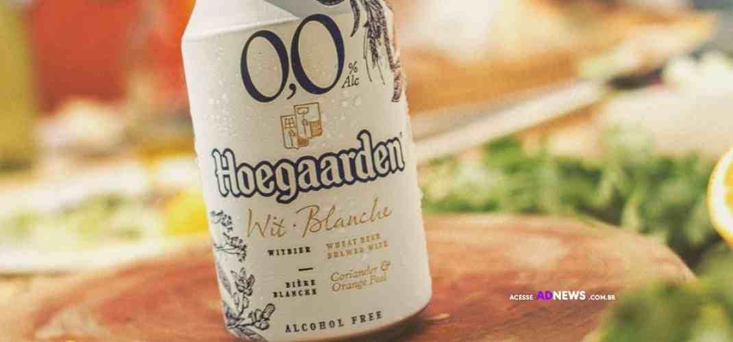 Nova embalagem, mesmo ritual! Hoegaarden ganha versão em lata