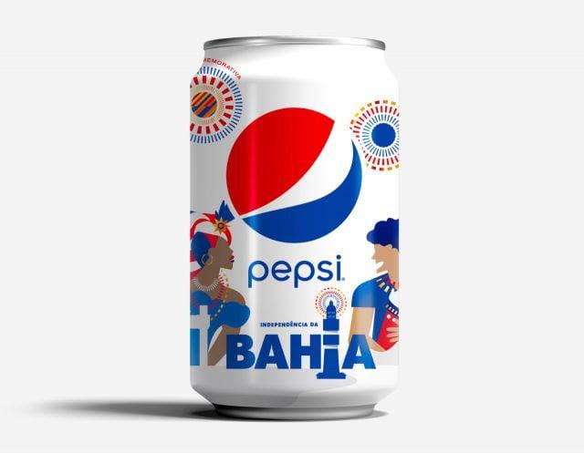 Pepsi® lança lata virtual para comemorar a independência da Bahia
