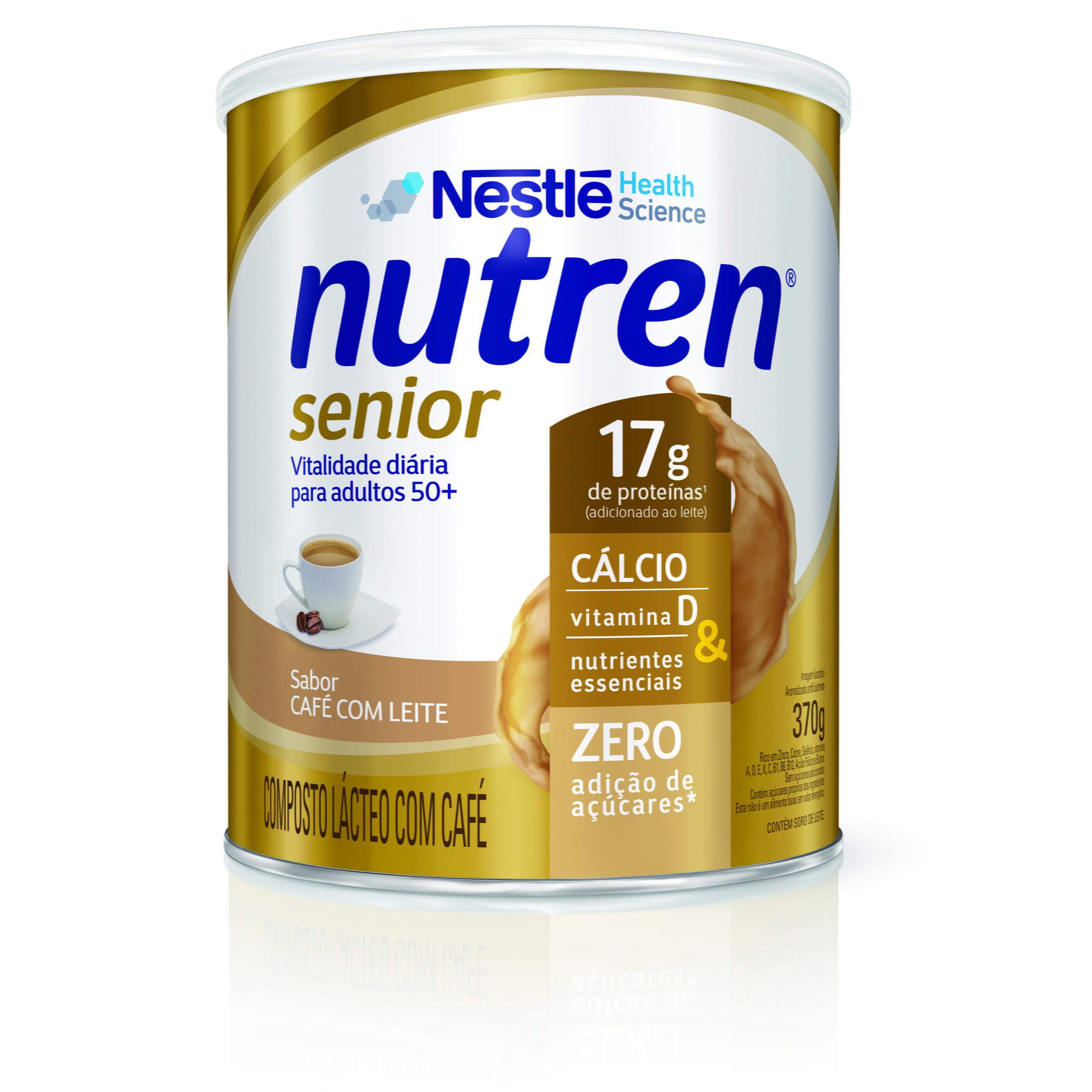 Promoção da Nutren® Senior distribui amostras grátis
