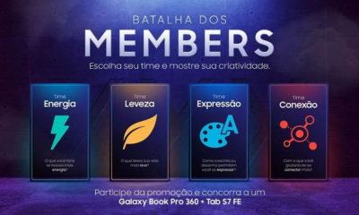 Samsung realiza promoção para Samsung Members