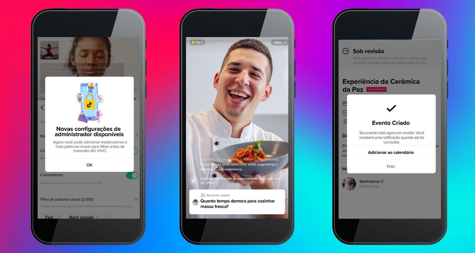 TikTok traz novos recursos para a função de Lives do app