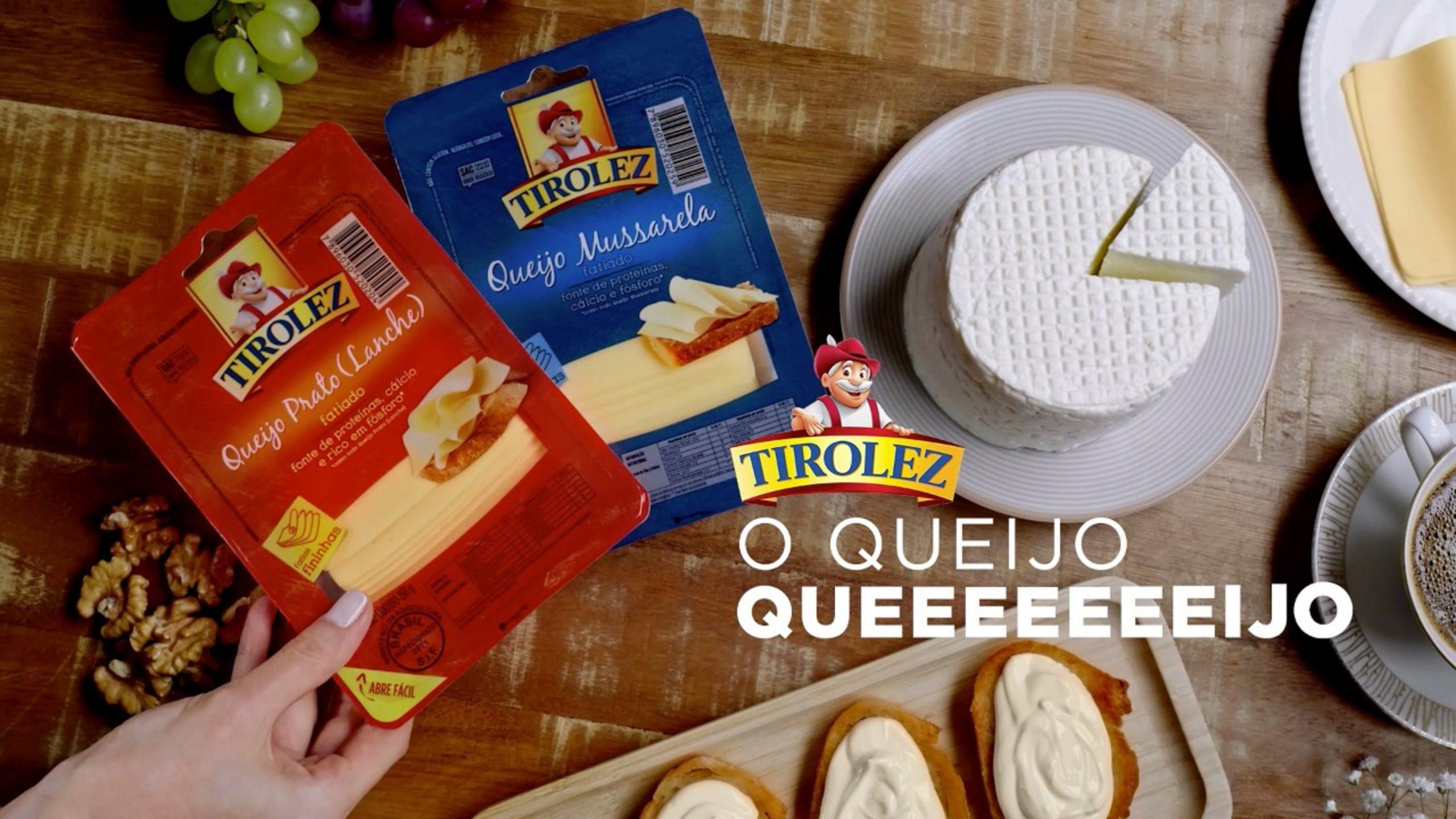 """Tirolez apresenta campanha de mídia de dar água na boca: """"Tirolez, o queijo queeeeijo"""""""