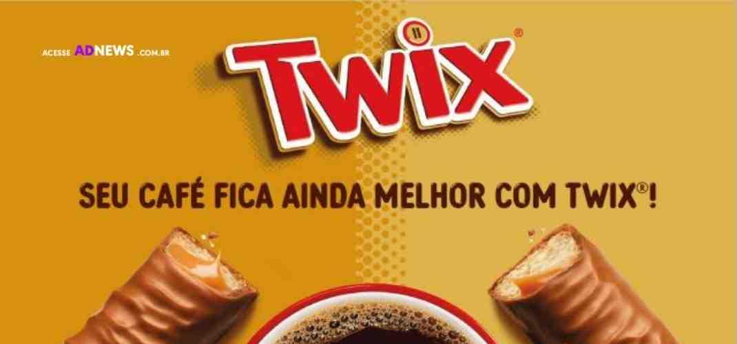 Twix inova na forma de tomar café com o desafio #CanudoTwix