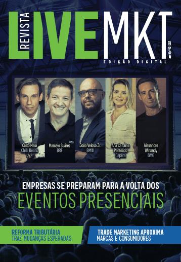 Capa Revista Live Marketing Ano 9, n.º 39 – 2021