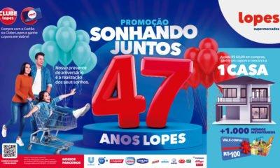 Lopes Supermercados celebra 47 anos de atividade