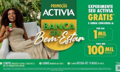 Activia Banca seu bem-estar: promoção dá prêmios que chegam a R$100 mil por mês