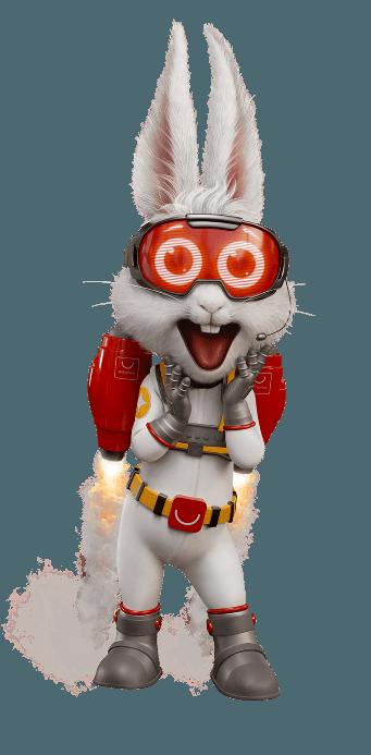 """Com a criação da FCB Brasil, Factory produz o novo coelho em 3D da AliExpress, patrocinadora do reality show """"The Masked Singer Brasil"""""""