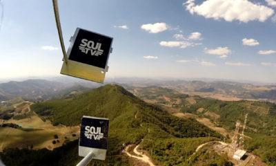 Lançamento de sonda espacial na mesosfera marca estreia oficial da Soul TV