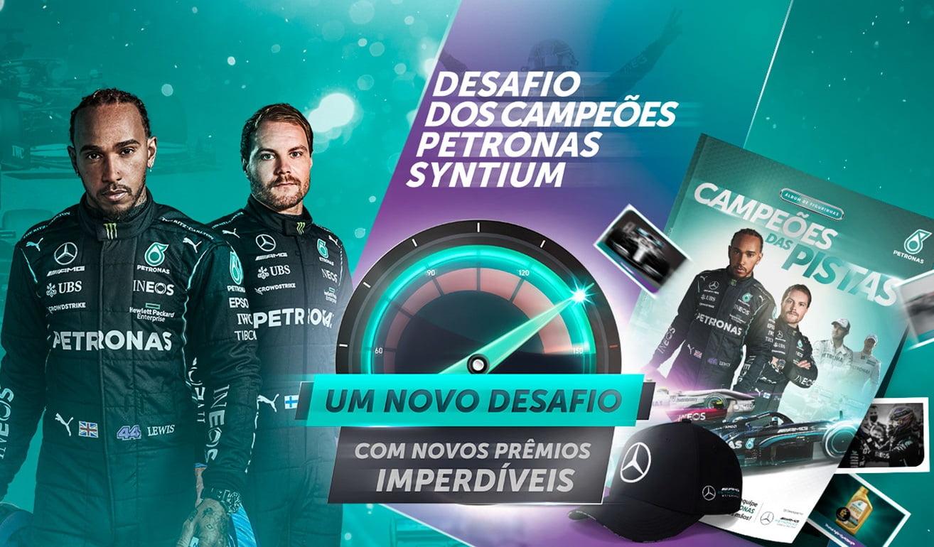Largada na Fórmula 1: PETRONAS investe em lives, games e premia torcedores nas redes sociais
