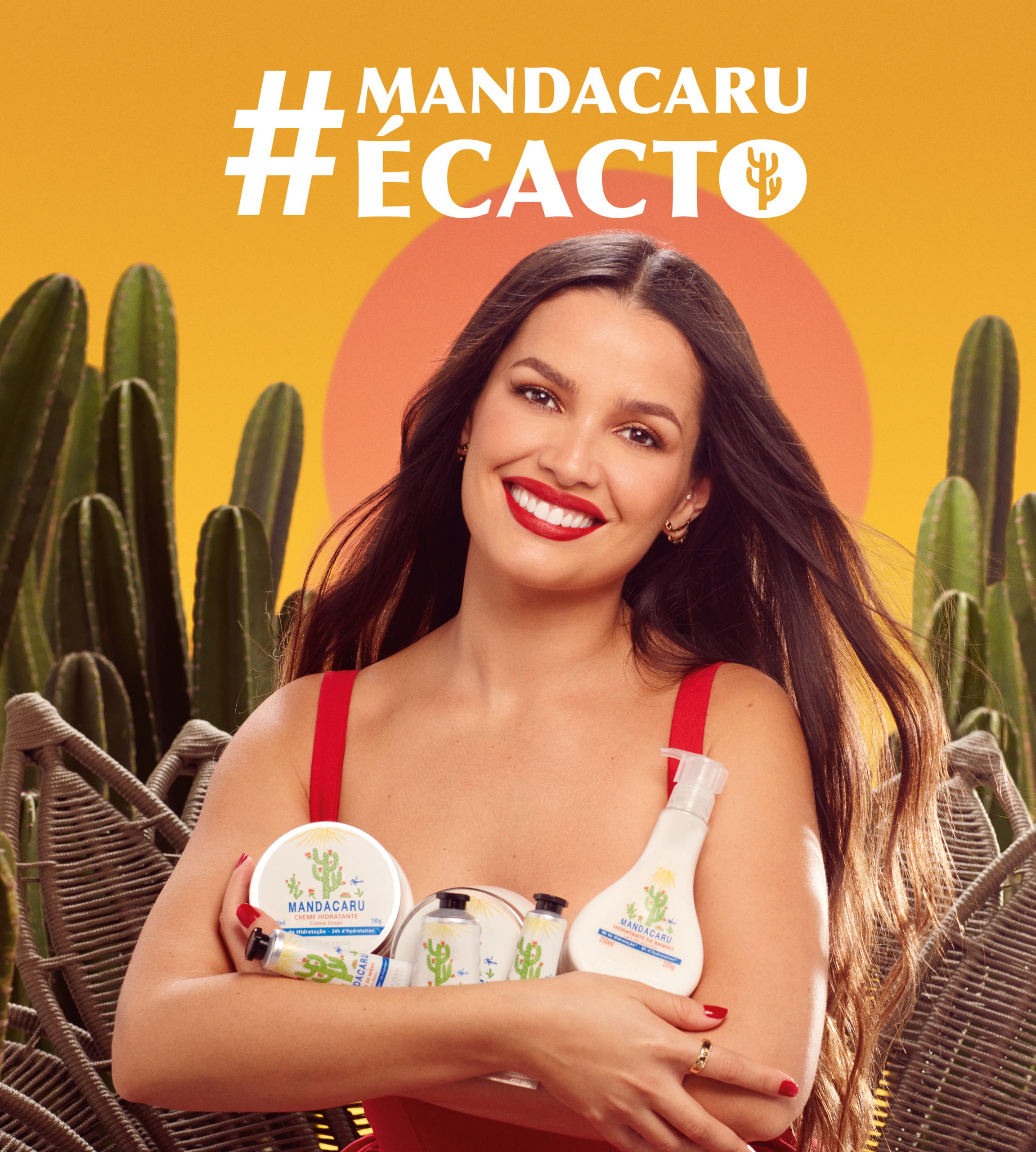 L'Occitane au Brésil e Juliette estreiam campanha digital da linha pioneira de Mandacaru