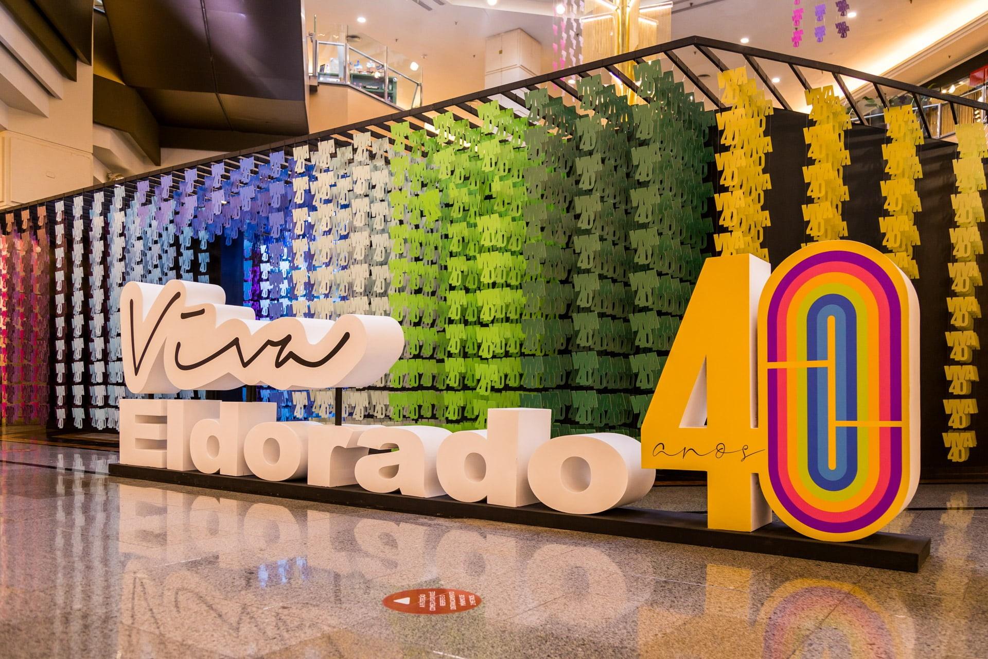 MChecon assina a cenografia da exposição interativa em comemoração aos 40 anos do Shopping Eldorado