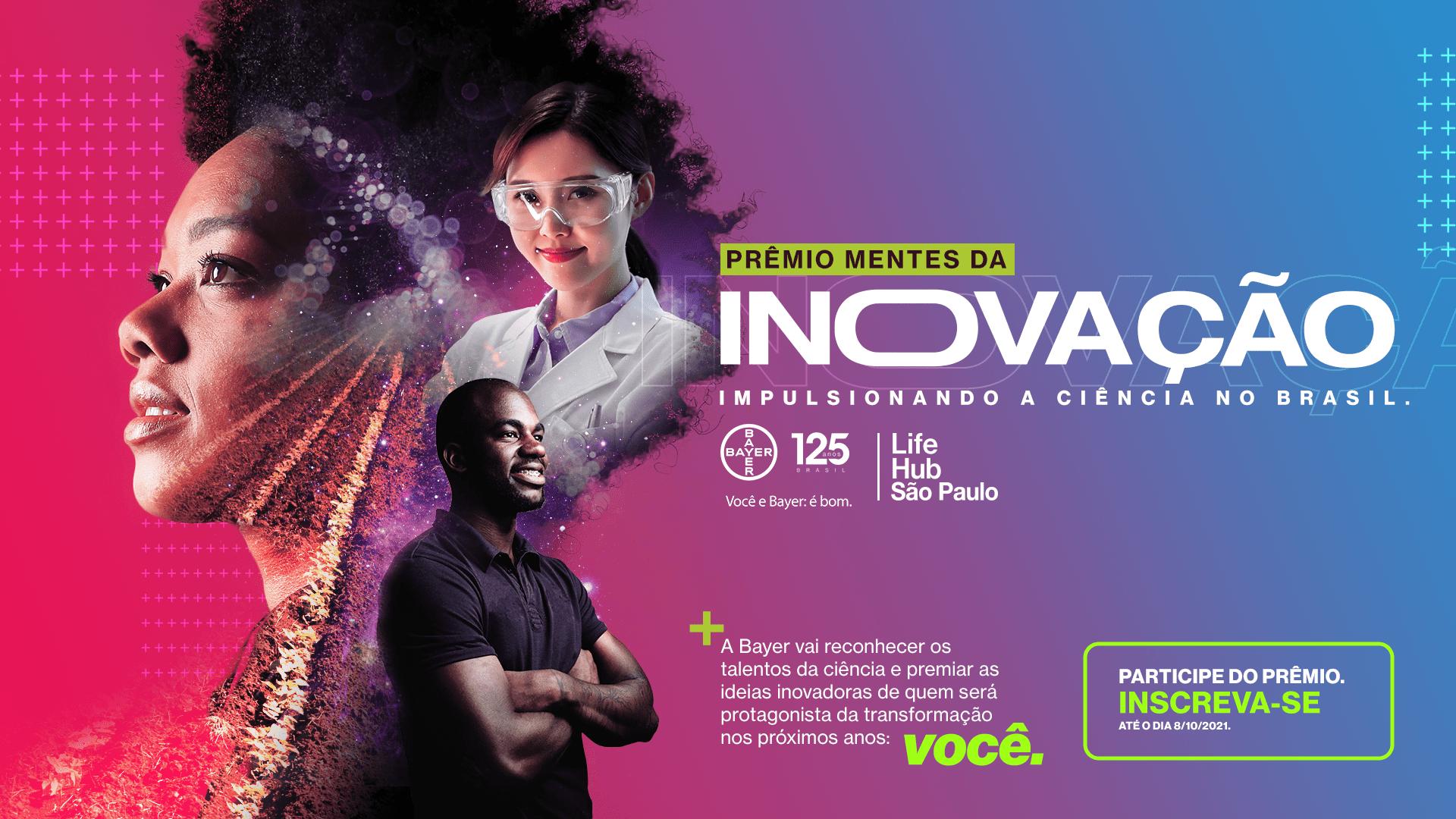 MRM Brasil cria campanha para Prêmio Mentes da Inovação, da Bayer