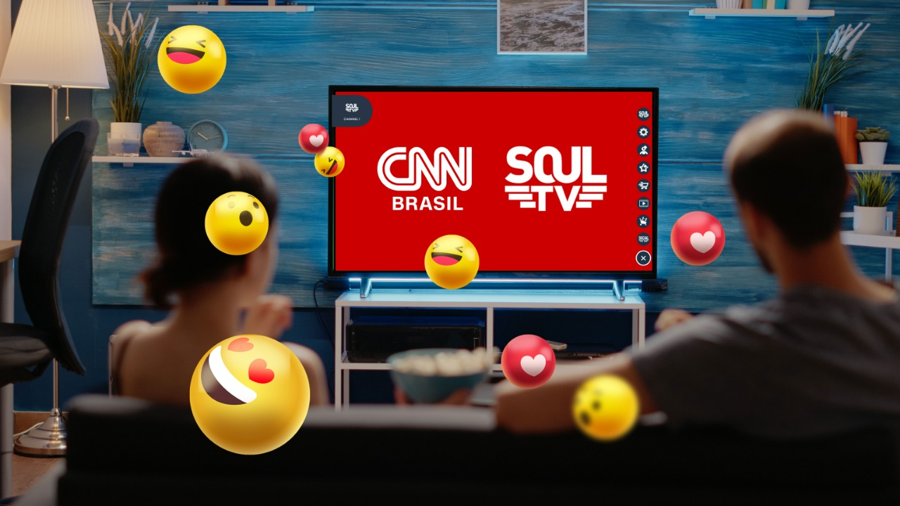 Soul TV fecha acordo com CNN Brasil para streaming e abre modelo à la carte de assinatura