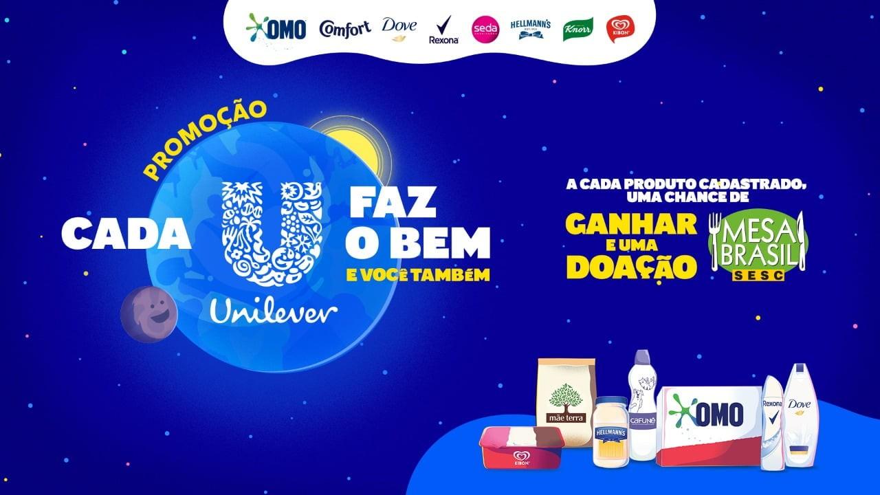 Unilever lança promoção que propõe corrente do bem