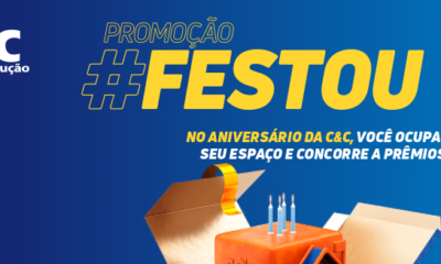 Aniversário C&C tem 52 dias de ofertas e prêmios de até 50 mil reais