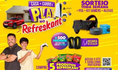 """""""Casa + carro e Play no Refreskant"""" é a oportunidade de refrescar a ganhar prêmios"""