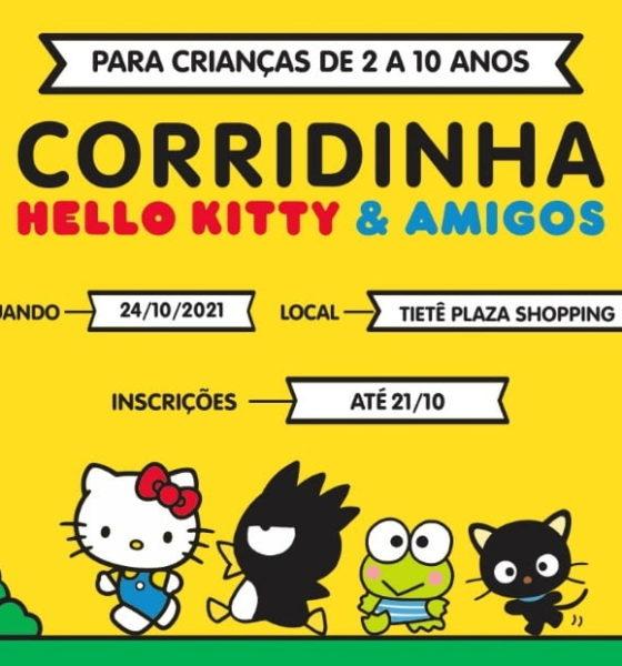 Corridinha Hello Kitty & Amigos agita Tietê Plaza Shopping em sua primeira edição