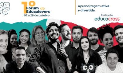 Educacross realiza 1º Fórum Educalover 2021 para promover a aprendizagem de forma lúdica