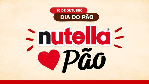 Nutella® celebra o Dia Mundial do Pão no ambiente digital e pontos de vendas