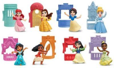 Princesas da Disney e personagens de Star Wars marcam a nova campanha do McLanche Feliz