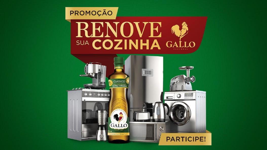Promoção de Gallo sorteará um total de R$100 mil em prêmios