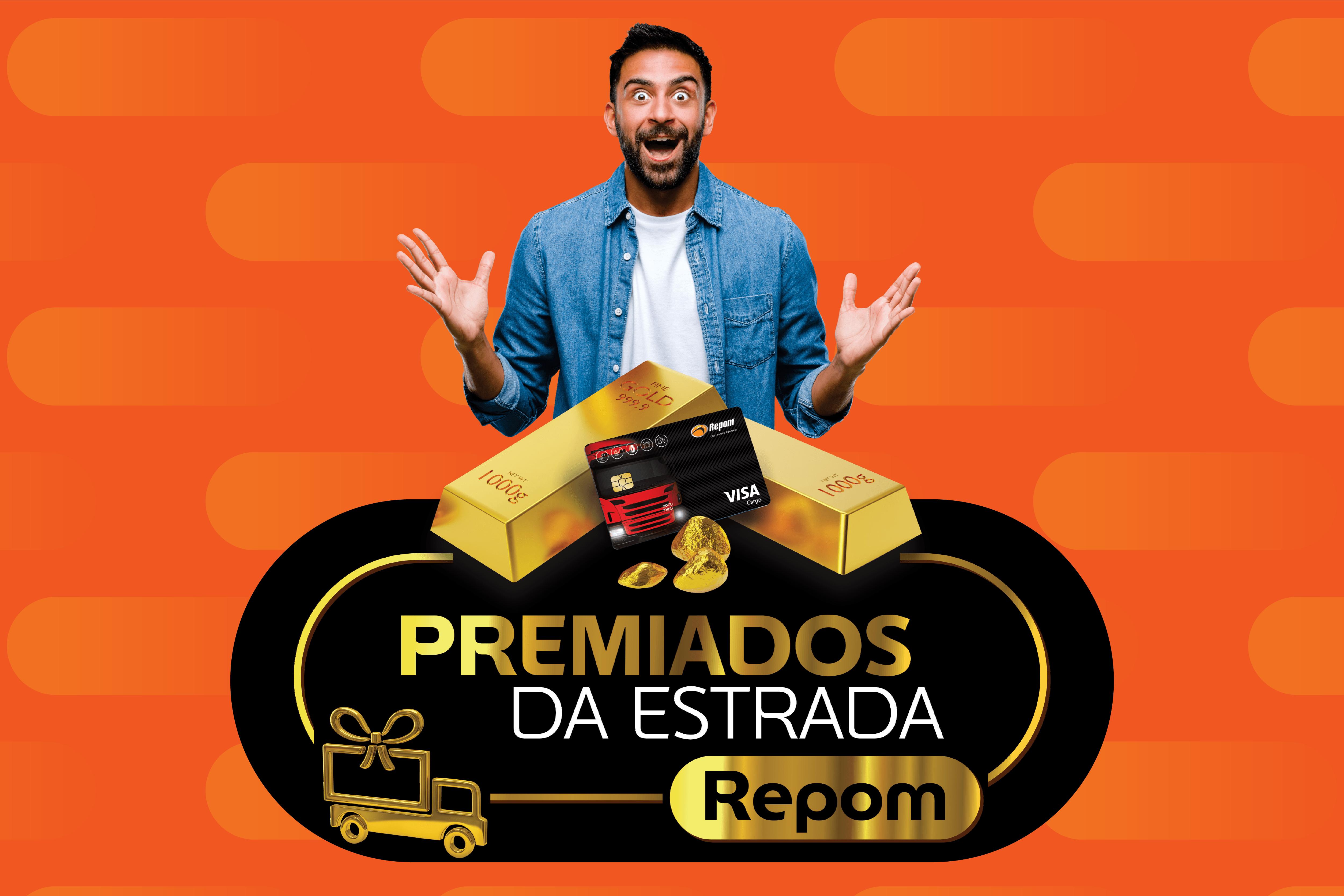 Promoção Premiados da Estrada Repom está de volta com R$ 160 mil em prêmios para caminhoneiros